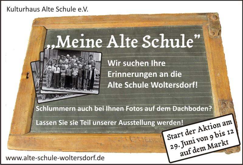 """Erinnerungen an """"Meine Alte Schule"""" gesucht"""