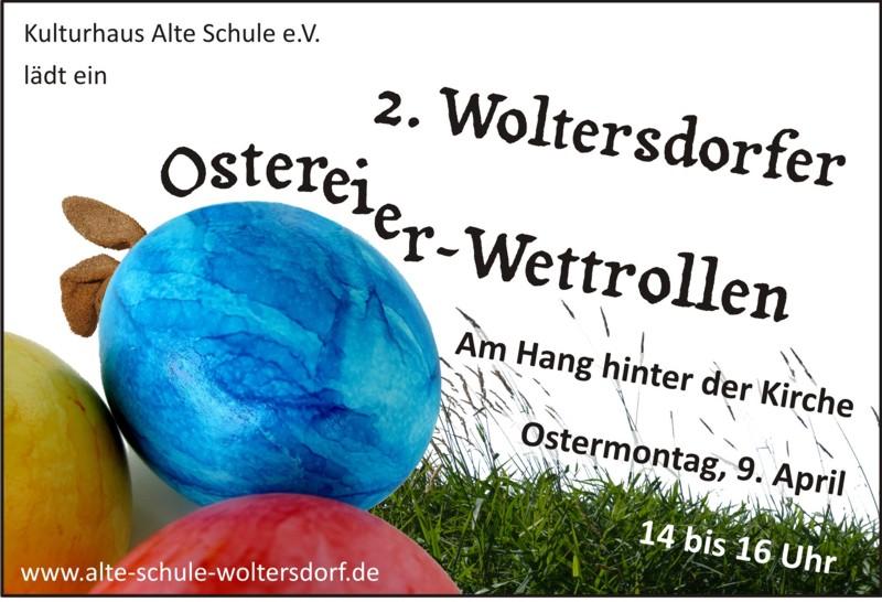 Ostereier-Wettrollen 2012