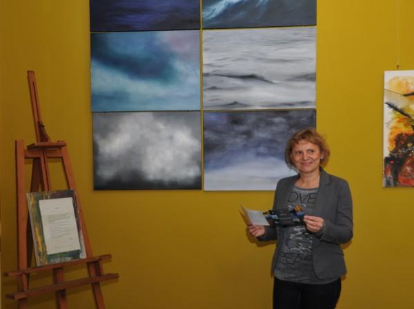"""Am 9. November wurde die Ausstellung """"Reflexion"""" mit Werken der Künstlerin Ute Ihle eröffnet"""