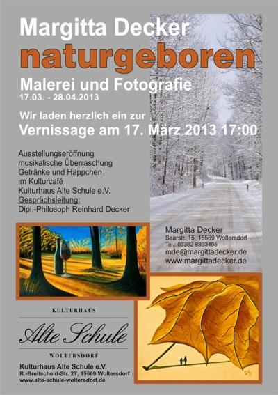 naturgeboren - Margitta Decker