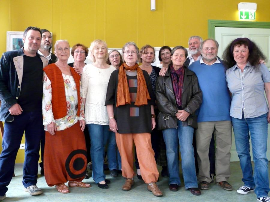 Woltersdorfer Künstler stellen gemeinsam aus (Foto: Mara Kaemmel)